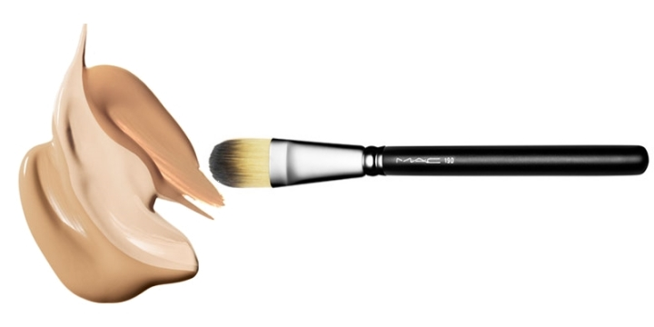 foundation brush glamupdate