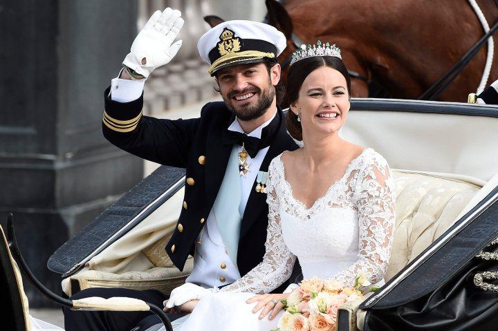 APTOPIX Sweden Royal Wedding