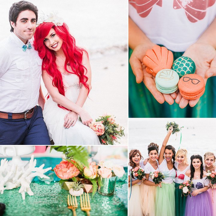 Hipster-Little-Mermaid-Wedding