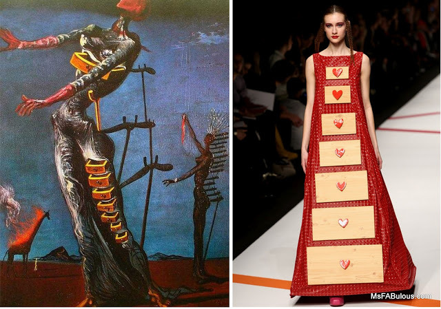 salvador dali glamupdate by amalia avram istoria fashionului16