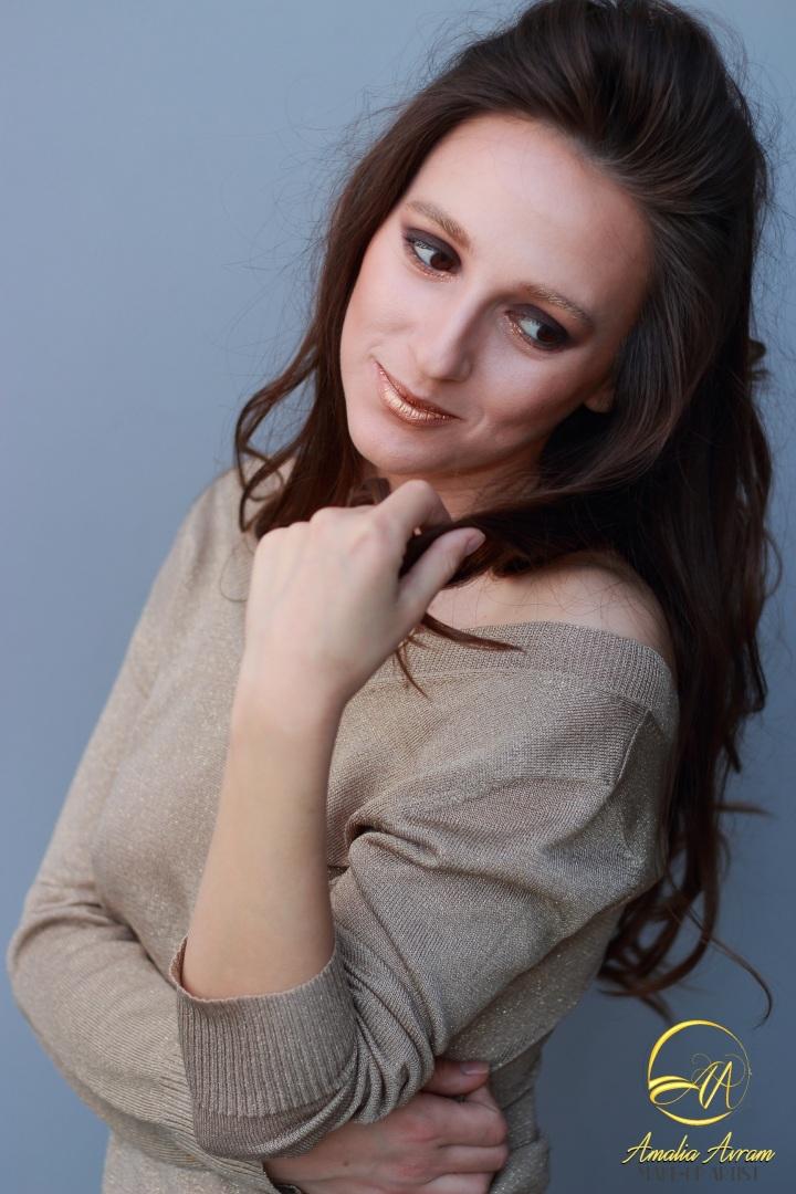 amalia avram makeup artist glamupdate smokey eyes 3