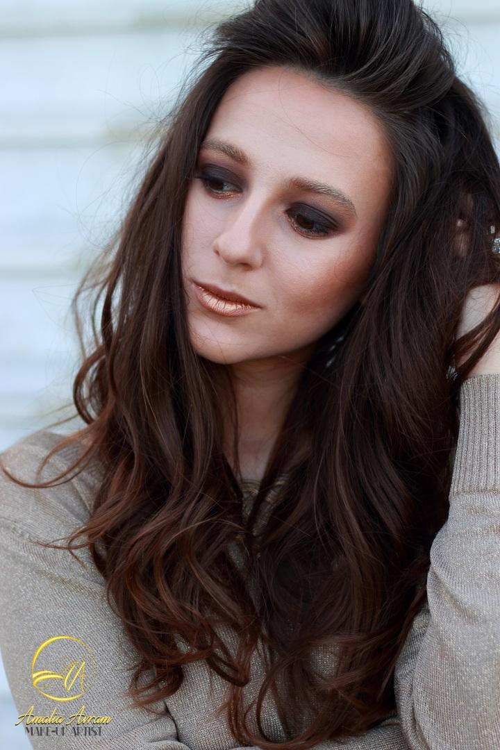 amalia avram makeup artist glamupdate smokey eyes