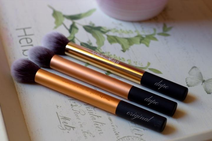 glamupdate dupe pensule ieftine 1