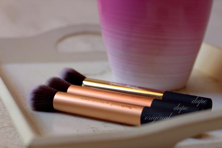 glamupdate dupe pensule ieftine