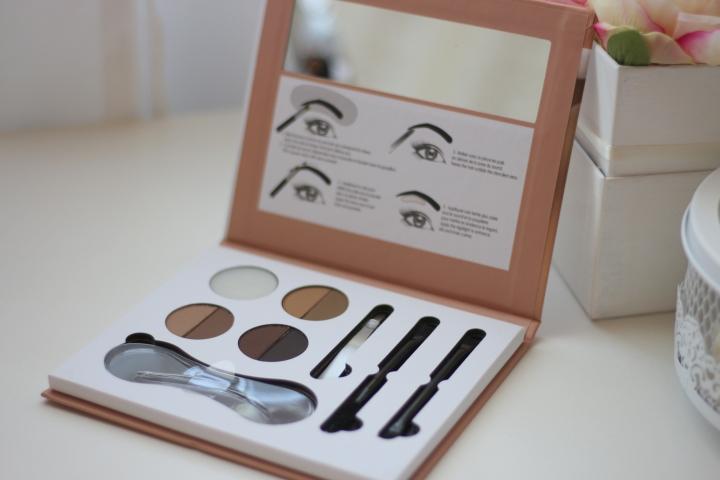 amalia avram parisax sourcills palette review paleta de sprancene