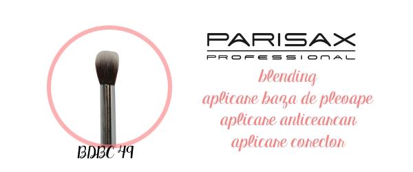 pensule aplicare baza de pleoape de sprancene amalia avram makeup glamupdate parisax professional 1