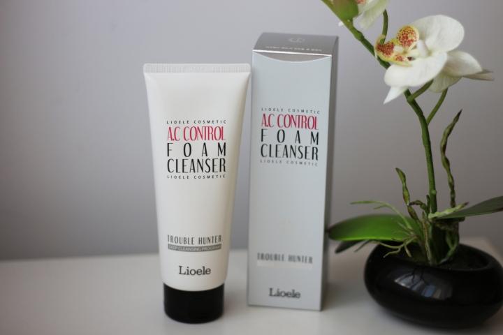 ac control foam cleanser lioele review glamupdate amalia avram